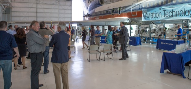 More than 100 business and education leaders attended the Arizona Technology Council's After 5 networking event, held at our Aviation Technology Center.