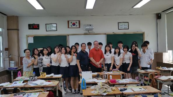 Korea students