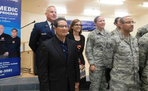 Brigadier Gen. Jim Balserak, M.D, and U.S. Rep. Martha McSally