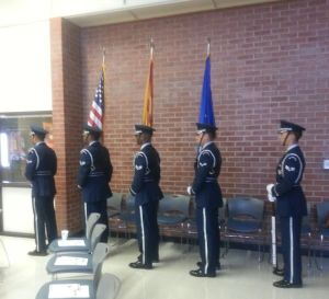 The Davis-Monthan Air Force Base Honor Guard