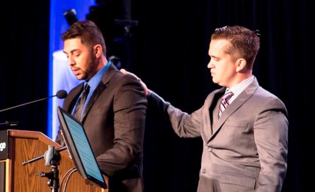 Jamal Qasim and Brendan Lyons